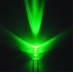 Led Verde 3mm Kit 50 Unidades