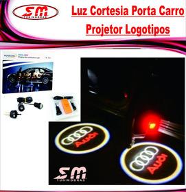 Luz De Cortesia Projetor Logomarca Audi A3 A4 A6 Q3 Q5 Q7 Tt