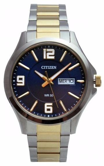 Relógio Citizen Masculino Tz20537a Bf2004 Misto Social