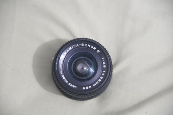 Lente Mamiya-sekor E 28mm F2.8