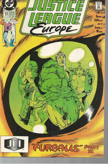 Justice League Europe 13 - Dc - Bonellihq Cx156 K19