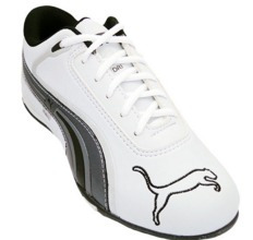 Tênis Puma Dri Branco E Grafite Mod:11754 [1ª Linha]