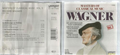 Cd Wagner Masters Of Classical Music Bonellihq Cx45 E19