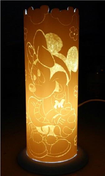 Luminária Minnie Em Pvc 110/220