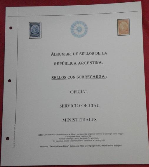 Album Junior De Argentina Carpe Diem S. O. Y Ministeriales