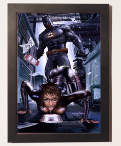 Catwoman Dc Comic Sexy Geek Quadro Poster Promoção Batman