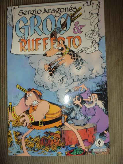 Sergio Aragones Groo & Rufferto Encadernada Pandora Books 05