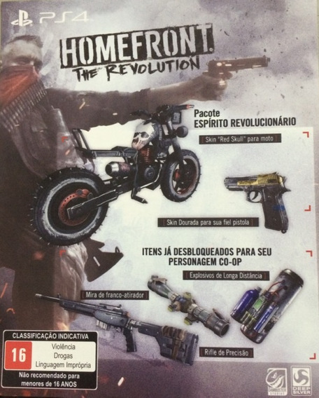 Dlc - Homefront The Revolution - Ps4