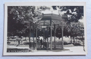 Cartão Postal Ponte Duque De Saxe Caxambú Minas Gerais