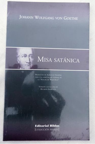 Misa Satánica - Goethe - Albrecht Schöne - Idioma Espanhol