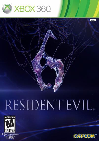 Resident Evil 6 Xbox 360 | Mídia Física Original Playgorila