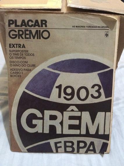 Revista Placar Especial Grêmio (raridade Completa)