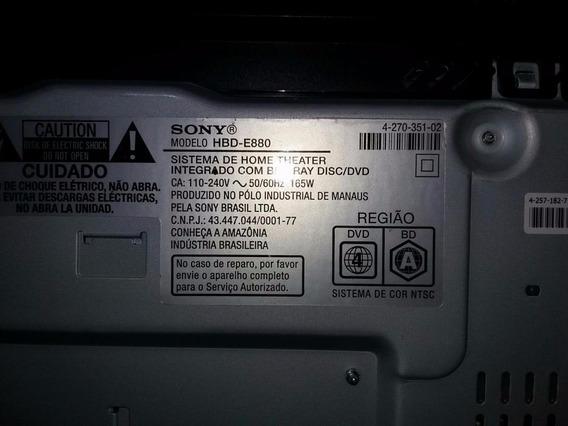 Caixas Acústicas Sony Ss Tsb106 Sur L E Sur R Hbd-e880