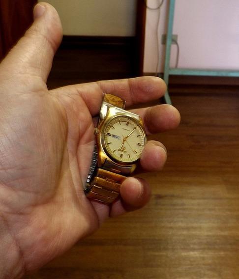 Relógio Seiko Automático Calendário Original Made In Brazil