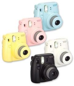 Câmera Fotográfica Fujifilm Completa Rosa Frete Grátis