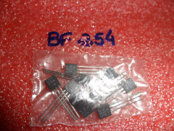 254 Bf254 - Bf 254 Transistor Bf 254 Original (10 Unid.)
