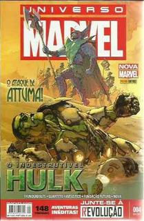 Hq-universo Marvel:hulk,thunderbolts,quarteto Fantastico-004