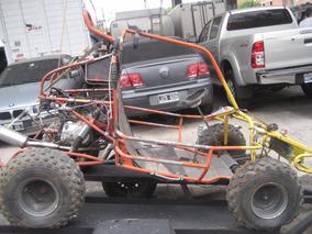 Arenero Honda 125 Con Trailer Grandes Chicos