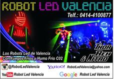 Somos Robot Led Valencia Iniciamos La Hora Loca Eventos