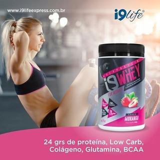 I9 Whey Suplemento Para Massa Muscular Feminino