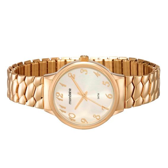 Relógio Mondaine Clássico Feminino Dourado 83313lpmgde2