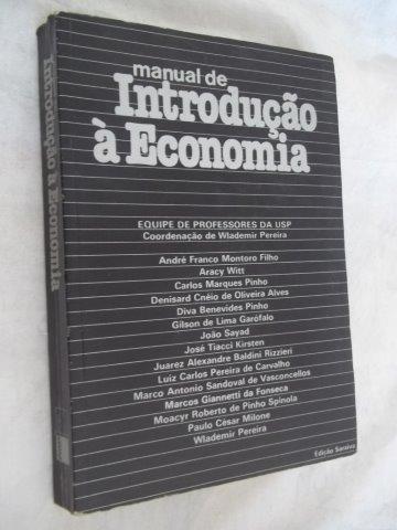 * Livro - Introdução Á Economia - Equipe Usp