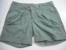 Shorts Osmoze Verde Tam 38 40 Usado Bom Estado