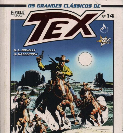 Revista Livro - Os Grandes Clássicos De Tex - Nº14