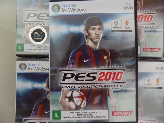 Jogo Pes 2010 - Pro Evolution Soccer 2010 Para Pc - Lacrado