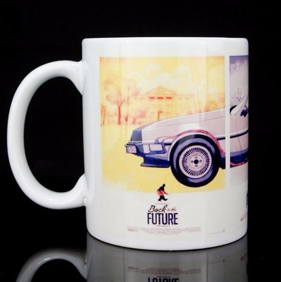 Caneca De Porcelana De Volta Para O Futuro