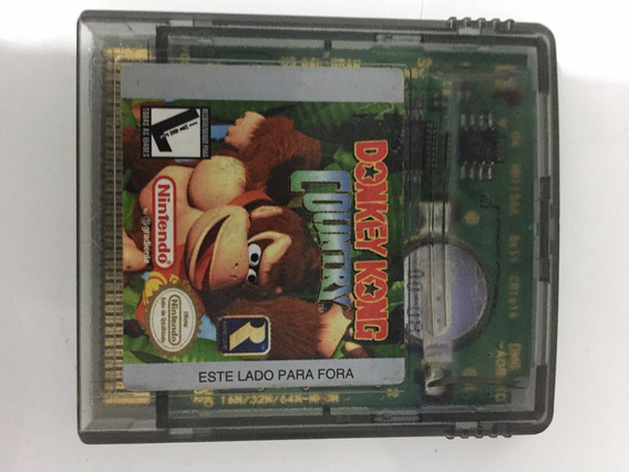 Gbc: Donkey Kong Country Original Gradiente
