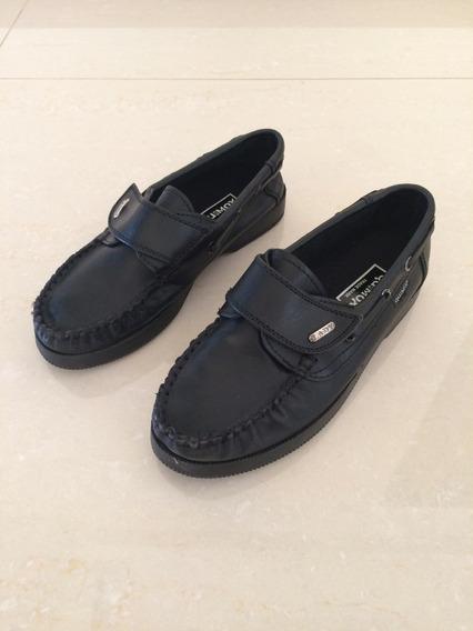 Zapatos Escolares De Niño Talle 34