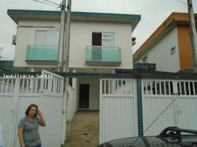 Casa A Venda Em São Vicente, Jardim Guaçu, 3 Dormitórios, 1 Suíte, 2 Banheiros, 2 Vagas - 292