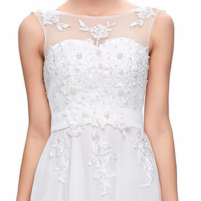 Vestido Novia Nuevo Talla 6 8 10 Delpilar Modelo Ng 01