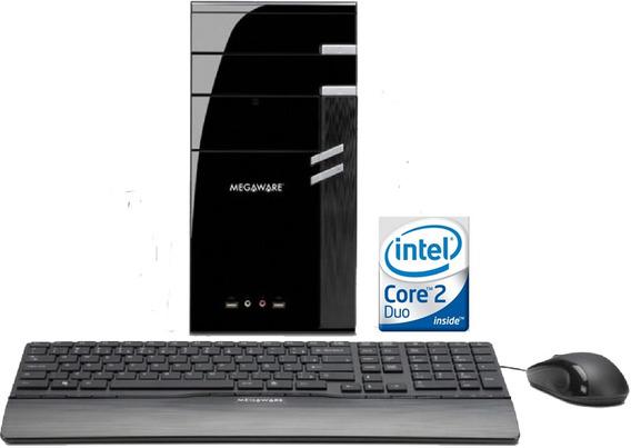 Micro Core 2 Duo Hd 160 2g Dvd Mouse/teclado Windows 7