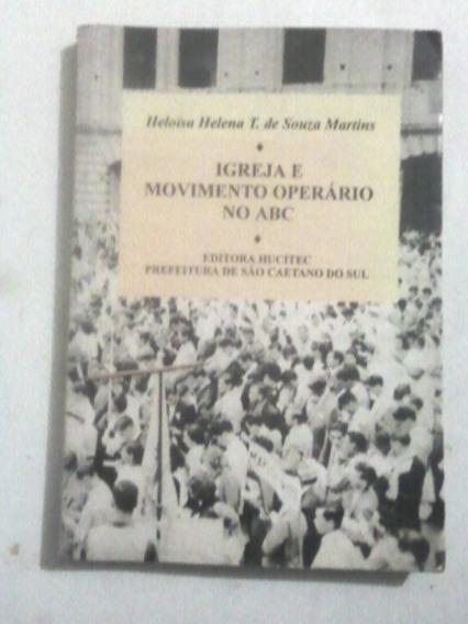 Livro: Igreja E Movimento Operário No Abc