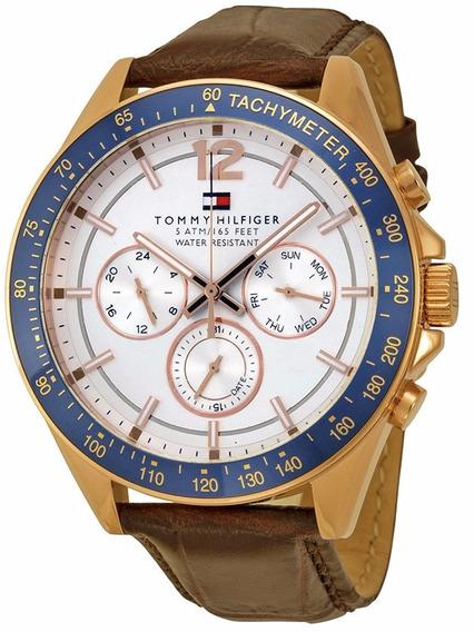 Reloj Tommy Hilfiger Sophisticated Sport Piel Hombre 1791118