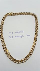 Corrente Ouro 18k Com 7.7 Gramas
