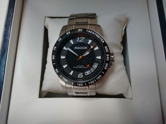Relógio Magnum Original Dois Anos De Garantia Nota Fiscal