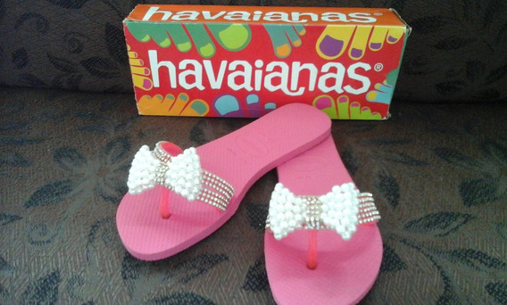 Chinelo Havaianas Originais Customizados