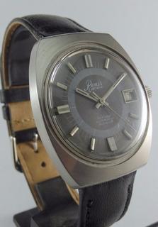 Reloj Renis Swiss Automatico 25 Rubies Acero Origin Garantia