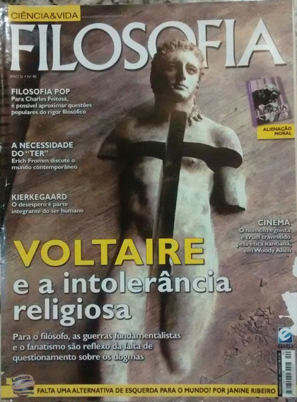 Rev. Filosofia / Voltaire E A Intolerância Religiosa