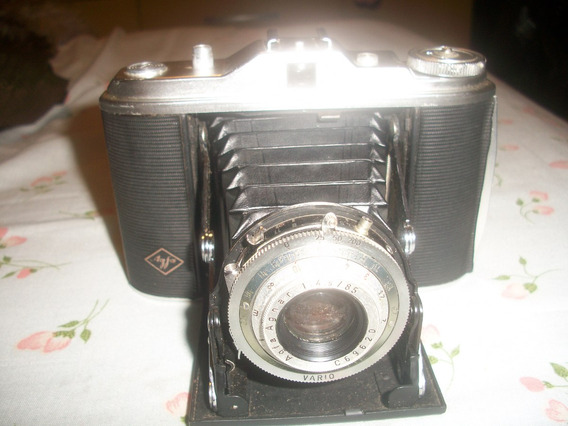 Camera Fotografica Agfa Isolete Modelo Vario Lente De 85 Mm