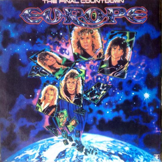 Lp Europe - The Final Countdown - Ed Nac 1986
