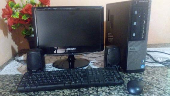 Pc Dell Novo Hd500 Gb Ran 4 Gb Completo