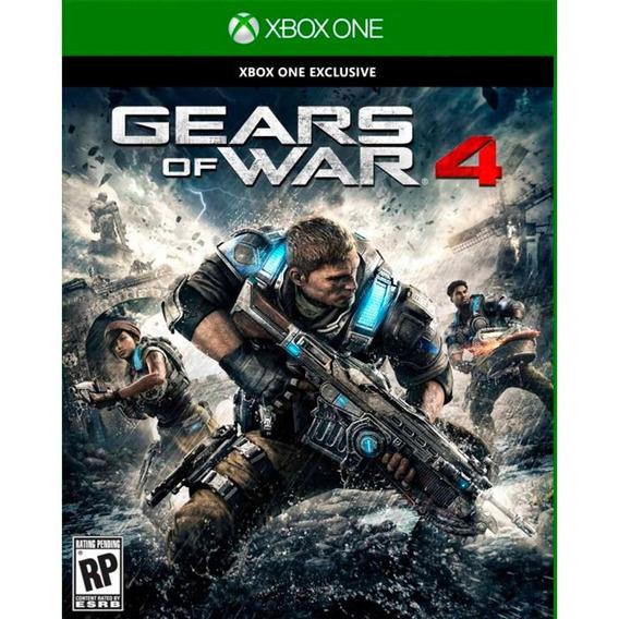 Gears Of War 4 (mídia Física 100% Pt-br) - Xbox One