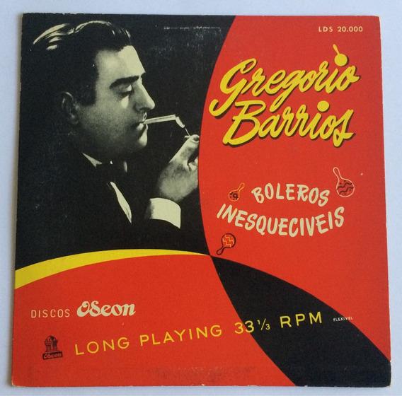 Disco Gregório Barros - Boleros Inesquecíveis