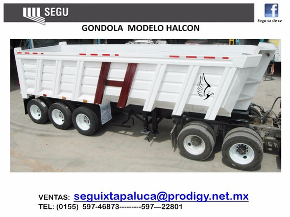 Góndola / Volteo / Tolva 30 Mtrs / 3ejes / Remolques