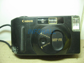 Câmera Analógica Canon Lens 35mm 1:4.5 Snappys