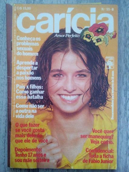 Carícia Nº55 Ag/79 - Rita Lee - Beth Goulart - Fábio Junior